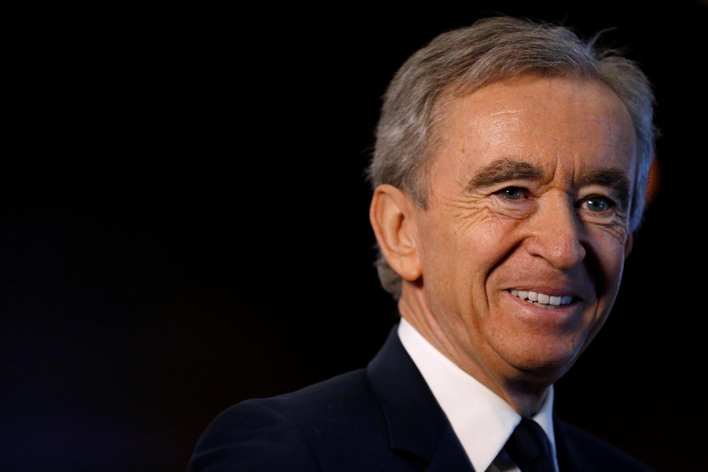 Bernard Arnault, presidente do grupo LVMH, é o francês mais rico do mundo e se aproxima do todo da lista das maiores fortunas do planeta.