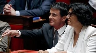 LFrench Prime Minister Valls in parliament recently