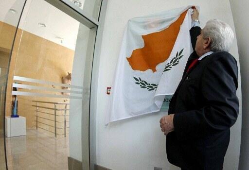 Le président chypriote Dimitris Christofias est à la tête d'une île en grande difficulté.