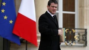 Manuel Valls, el nuevo primer ministro francés.