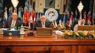"""""""伊拉克重建国际会议""""在科威特举行。2018-02-14"""