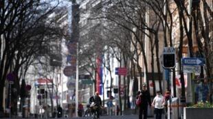 Une rue de Vienne en Autriche pendant le confinement, en avril dernier (image d'illustration).