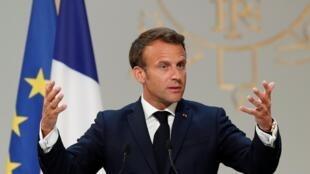 Shugana Faransa, Emmanuel Macron