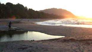 La plage de Batu Rumah est l'une des quatres plages de Papouasie indonésienne qui réunissent plus de 70% des tortues luths qui viennent se reproduire.