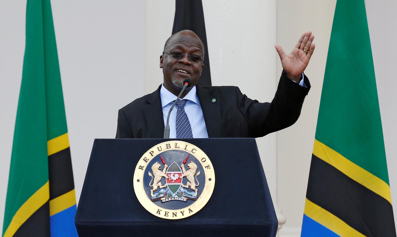 Shugaban kasar Tanzania John Pombe Magufuli.