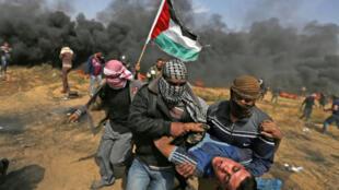 Mais vítimas palestinianas por soldados israelitas durante manifestação sexta-feira