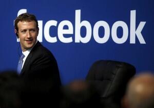 臉書創始人兼首席執行官紮克伯格資料圖片