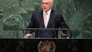 Temer participou nesta terça-feira do debate promovido pela ONU
