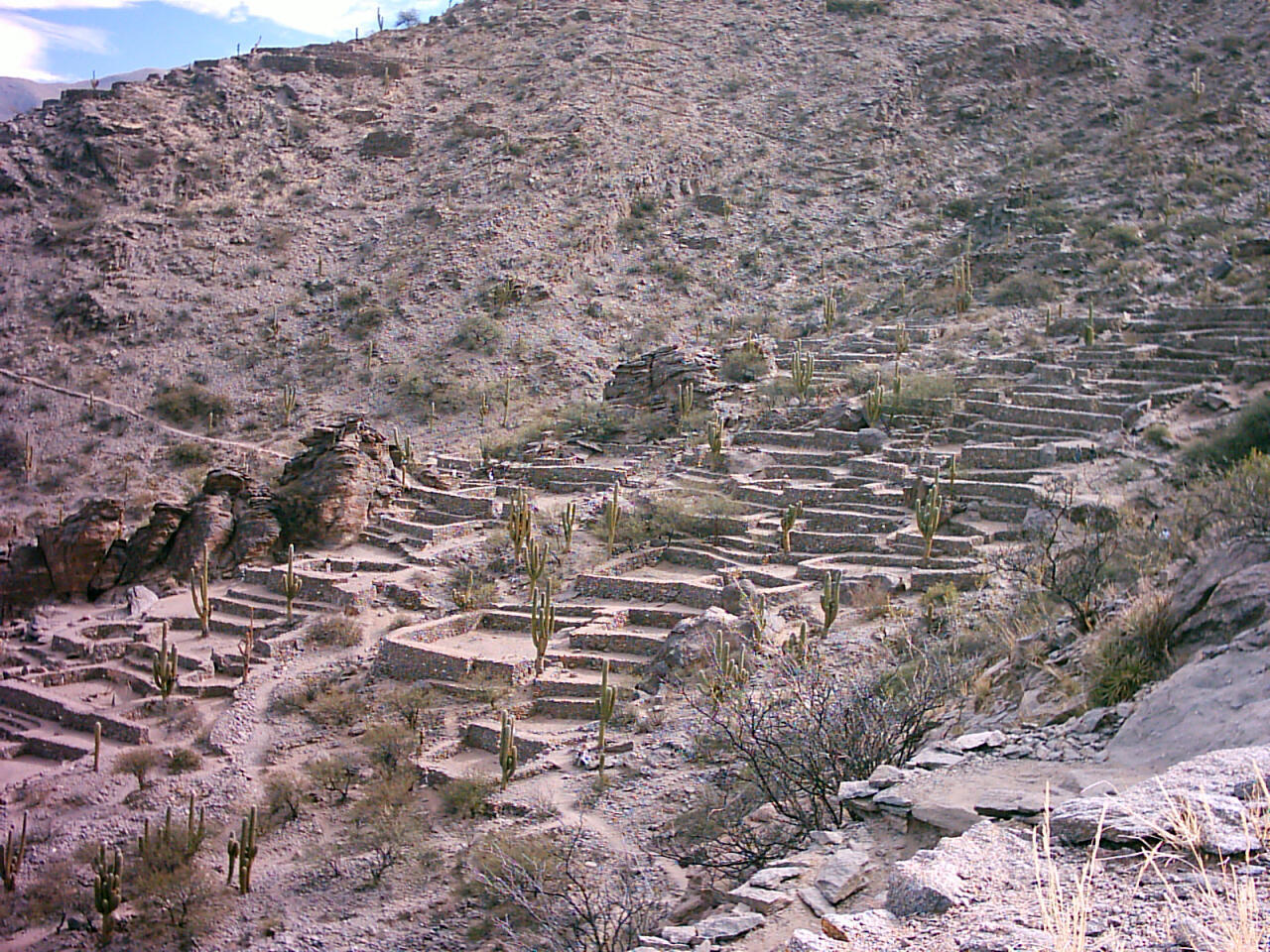 Ruins of Quilmes is an archaeological site in the Calchaquí Valleys, Tucumán Province, Argentina.