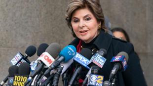 Gloria Allred en décembre 2018. Elle est la plus connue des avocats américains conseillant les victimes d'agressions sexuelles.