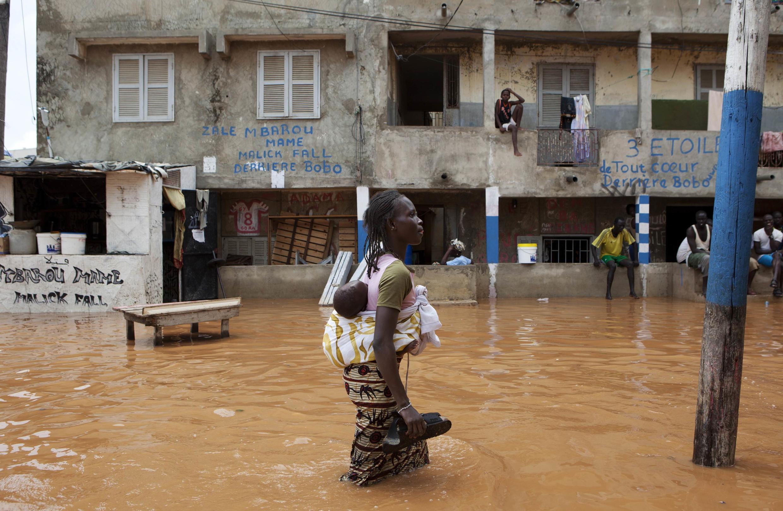 Déjà en août 2012, des inondations avaient ont noyé plusieurs quartiers de Dakar.