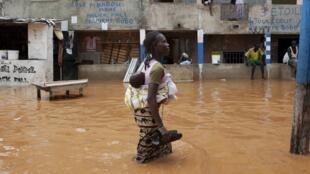 Inondations au Sénégal.