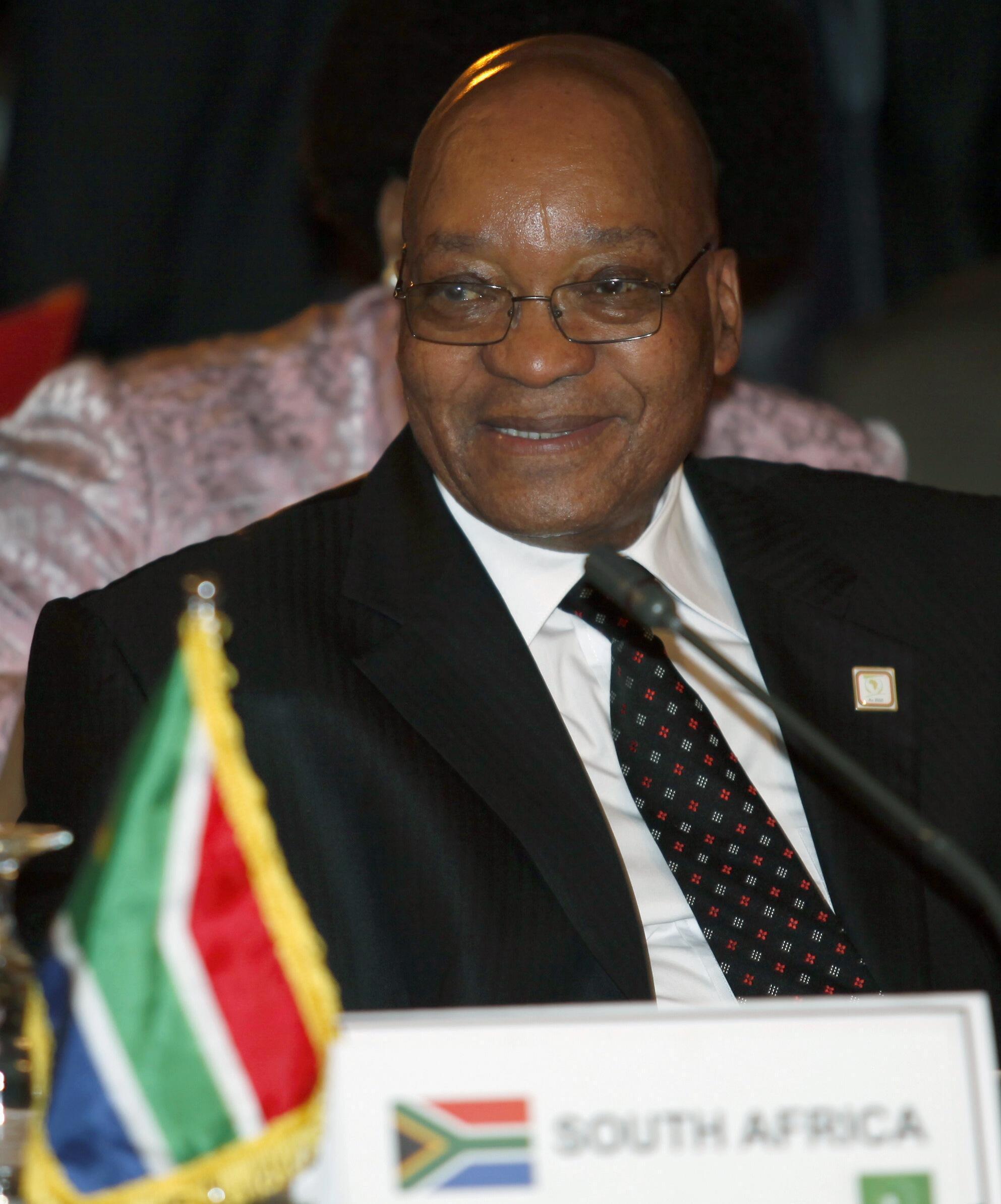 南非总统雅各布-祖玛