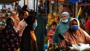 Le marché de Lhokseumawe