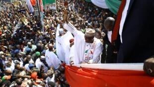 Taron jam'iyyar adawa ta PDP a jihar Sokoto, yayin kaddamar da yakin neman zaben kujerar shugaban kasa na dan takararta Atiku Abubakar.