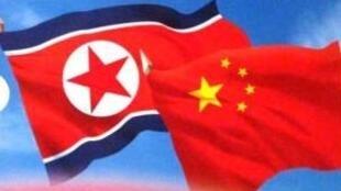 圖為中文網絡關於中朝關係Sino - Korean friendship配圖
