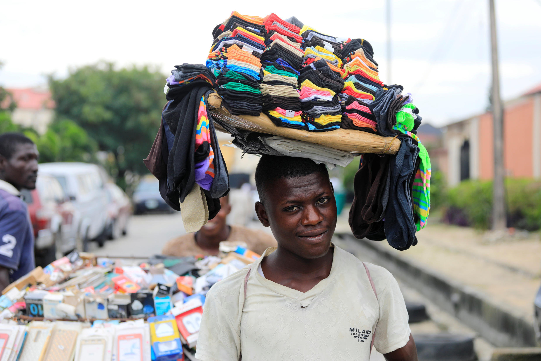 Lekki, un quartier de Lagos, le 12 septembre 2017.