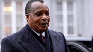 Le président congolais Denis Sassou-Nguesso (ici en mars 2015 à Bruxelles).