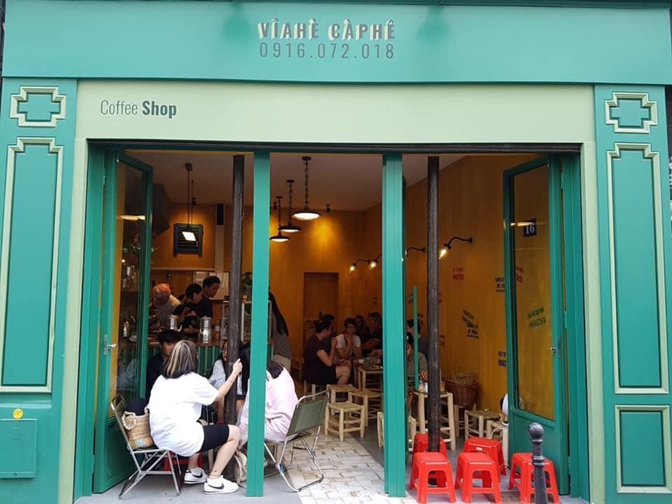 Vỉa hè Cà phê, Paris, Pháp.