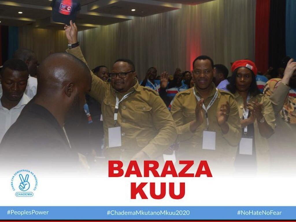 Chama cha upinzania Tanzania CHADEMA champitisha TIndu Lissu kupeperusha bendera yake katika uchaguzi wa urais ujao.