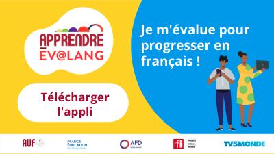 Bannière APPRENDRE EV@LANG RFI