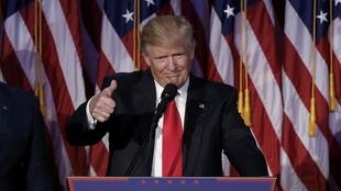 Zababben Shugaban Amurka Donald Trump
