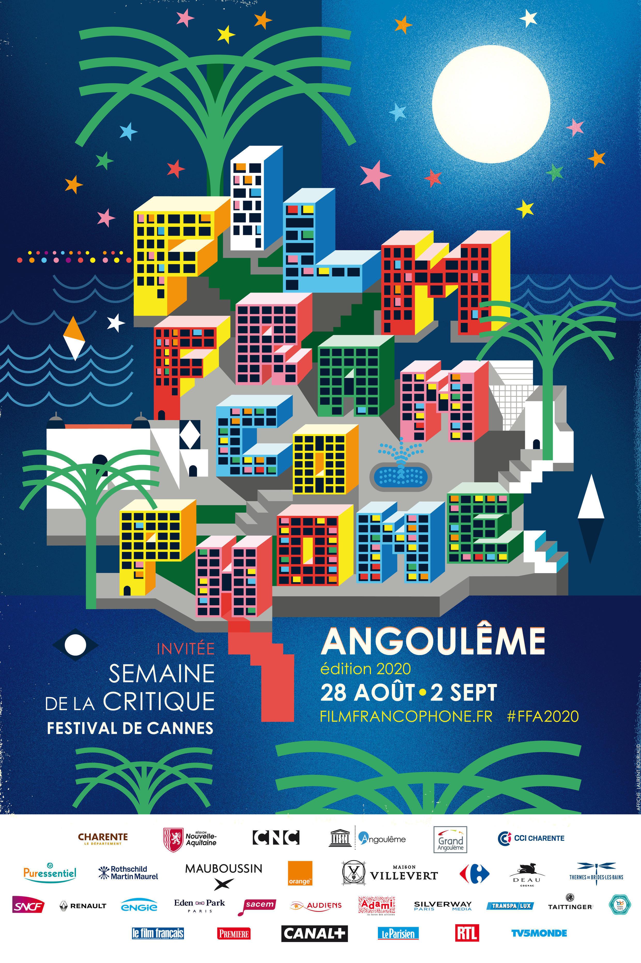 Film Francophone d'Angoulême 2020_Poster