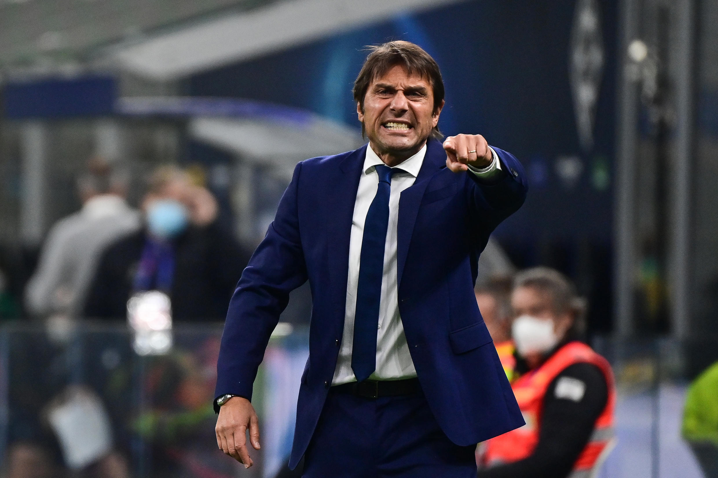 Antonio Conte's Inter Milan are bottom of Group B before hosting Real Madrid.