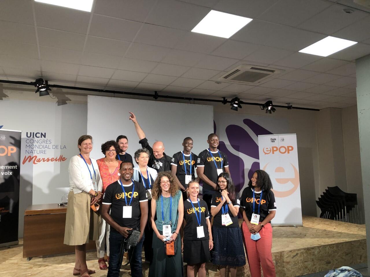 EPOP competition participants and RFI Planete Radio staff_Marseille_6 Sept 2021