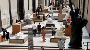 Bảo tàng nghê thuật Orsay-Paris mở cửa đón khách sau thời gian phong tỏa kéo dài. Ảnh chụp ngày 23/06/2020.