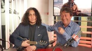 Allessandro Valderrama y Jordi Batallé en RFI