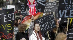 Albanie- Tirana - violences femmes - journée de la femme