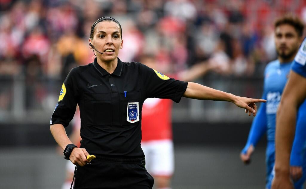 Frappart took charge of the 2019 Women's World Cup final in France