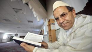 Le président du Conseil français du culte musulman, Mohammed Moussaoui, le 13 juin 2008.