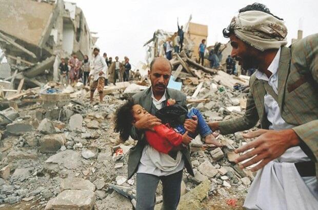 جنگ داخلی یمن با پیشروی شورشیانِ حوثی در شمال آن کشور و ورود آنان در سپتامبر ۲۰۱۴ به صنعا، پایتخت یمن، آغاز شد. ائتلافِ عربی به رهبری عربستان سعودی به درخواست دولتِ رسمی یمن در ۲۵ مارس ۲۰۱۵ جنگ با شورشیان حوثی به نام انصارالله را آغاز کرد.