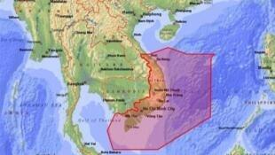 Vùng thông tin bay Hồ Chí Minh FIR