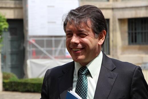 Marcelo Viana, vencedor do grande prêmio científico da Fondation Louis D., do Institut de France.