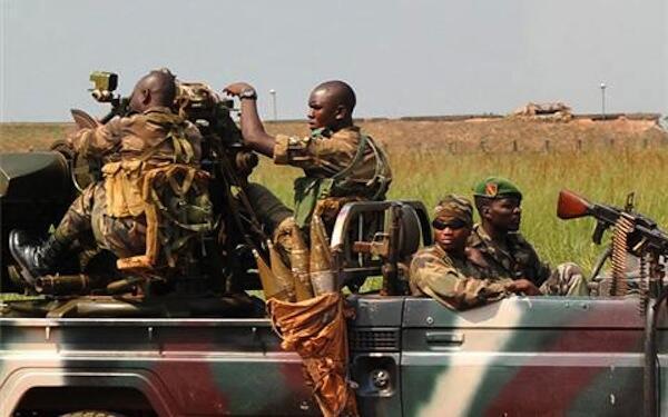 Kundi la Waasi la Seleka linalopambana kuudhibiti Mji wa Bangui huenda likakabiliwa na upinzani kutoka kwa majeshi ya nje