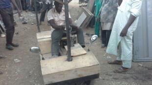 Local solar vehicle by Nigerian