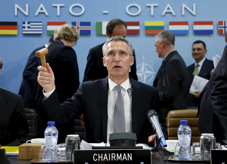 O secretário-geral da Otan, Jens Stoltenberg.