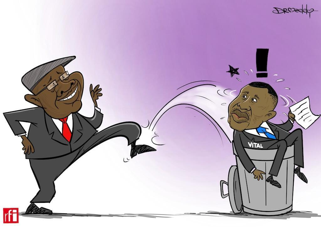 Vital Kamerhe, afisa mwandamizi katika ikulu ya rais Felix Tshisekedi, akabiliwa na mashitaka ya rushwa (15/05/2020)