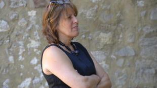 La metteure en scène Catherine Boskowitz lors de la lecture de «Attitude Clando» de Dieudonne Niangouna.