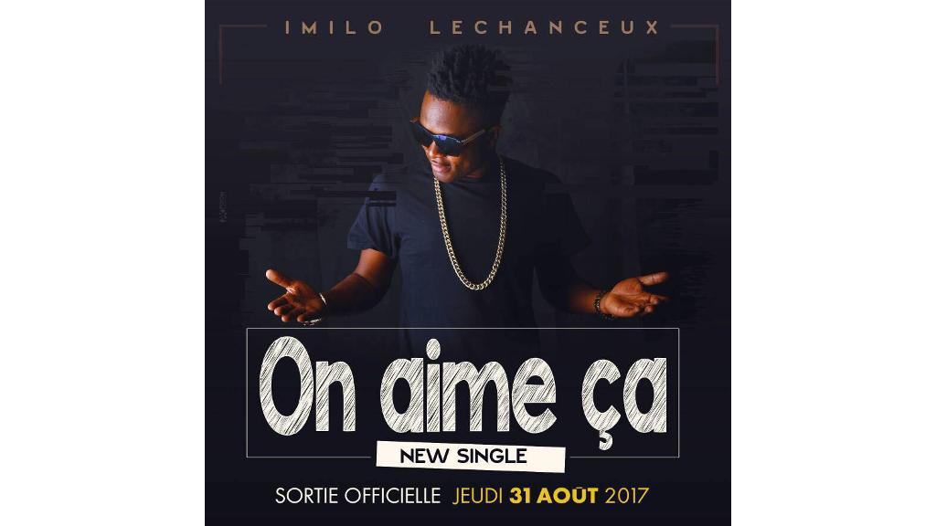 «On aime ça», la nouvelle chanson d'Imilo Lechanceux.