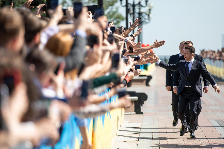 Владимир Зеленский перед церемонией инаугурации, Киев, 20 мая 2019