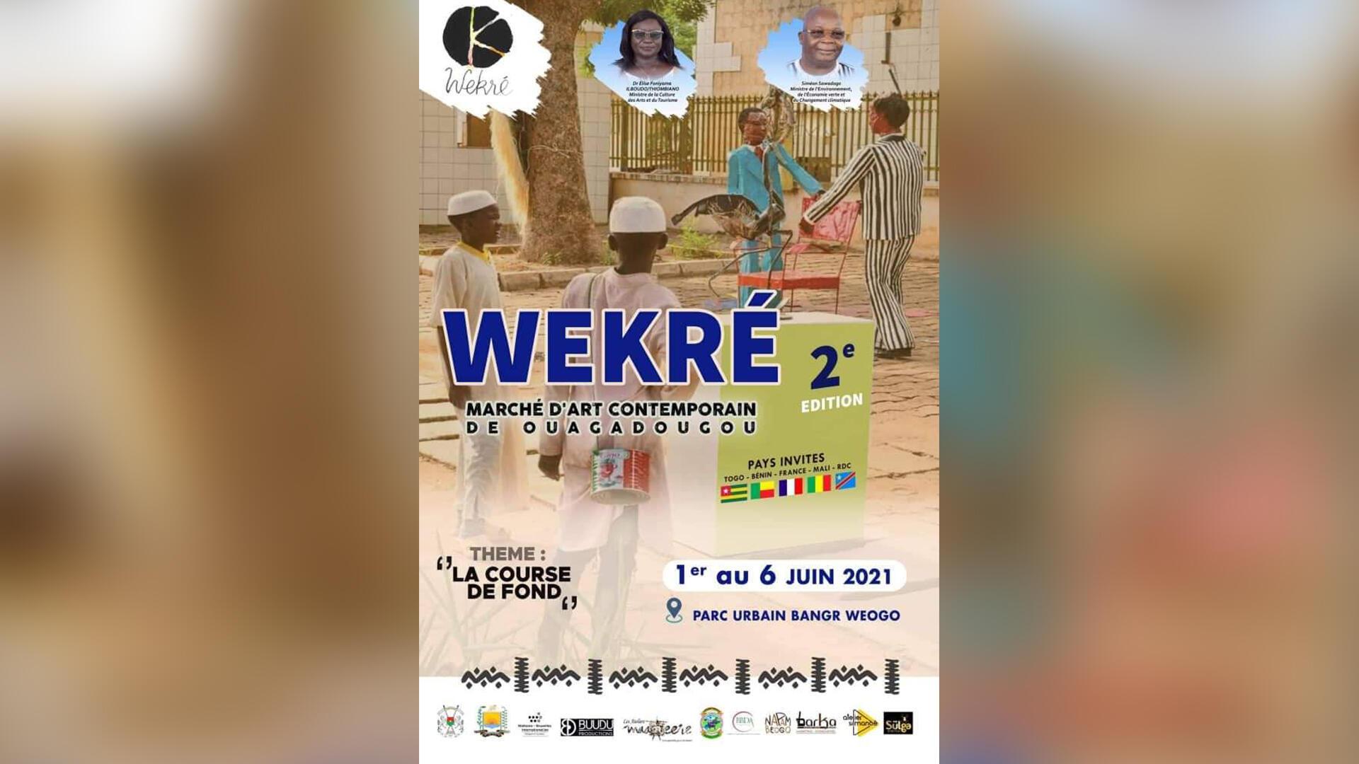 Burkina Faso - Ouagadougou - Wekré - Affiche