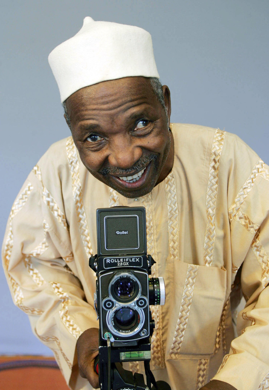 """Chamado de """"olho de Bamako"""", Sidibé morreu aos 80 anos."""