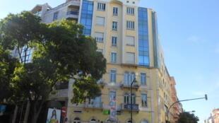 Prédio em Lisboa da antiga Casa dos Estudantes do Império
