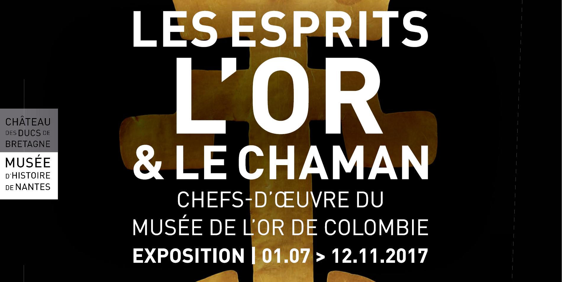 L'exposition «Les Esprits, l'Or et le Chaman» a commencé le 1er juillet 2017 et continue jusqu'au 2 septembre 2017.