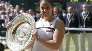 Марион Бартоли победительница финала Уимблдонского турнира-2013