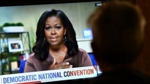 Michelle Obama acusa Trump de ser mau presidente na Convenção virtual dos democratas
